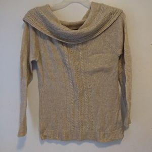 W.H.B.M Cowl Neck Sweater Sz M